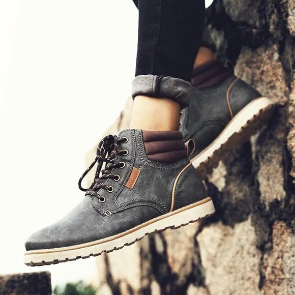Mens Kaler Waterproof Fashion Boots